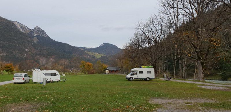 Grubhof-Camping in Lofer